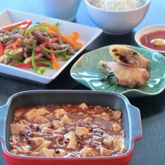 中華の基本/麻婆豆腐&青椒肉絲