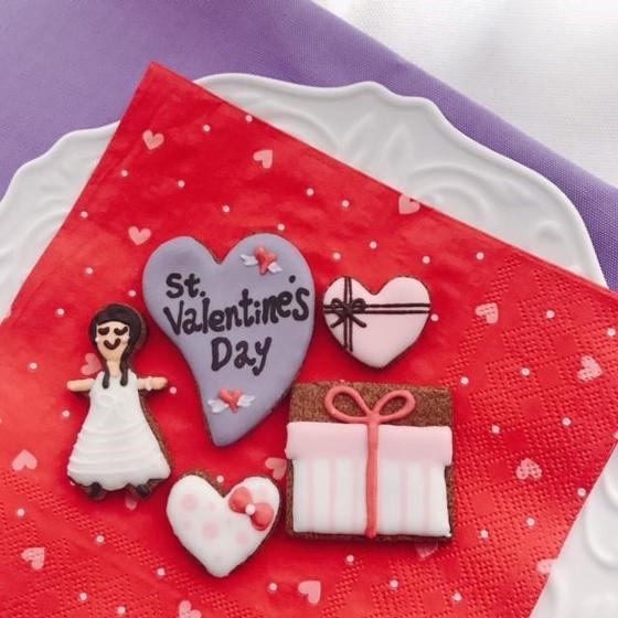 アイシングクッキー バレンタイン 作りたい放題!イベント