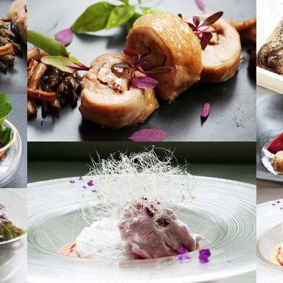 全7品秋レシピ✿松茸国産鶏の包み焼・アラネージュ他✿お土産付