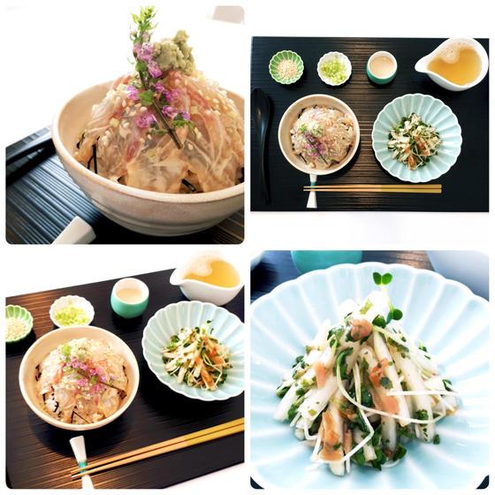 和食レッスン:絶品ごまだれ鯛茶漬け