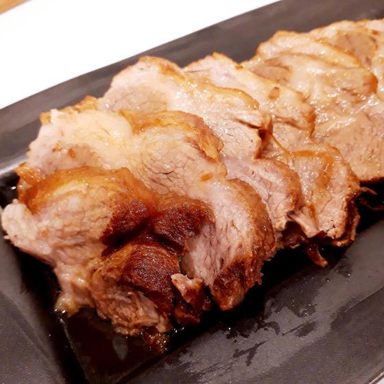 【看板メニュー!】和食:脂っこくない煮豚、かぶ明太子、水漬け