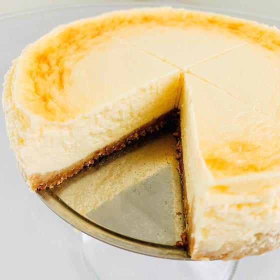 ACO'sベイクドチーズケーキ(ホール断面)