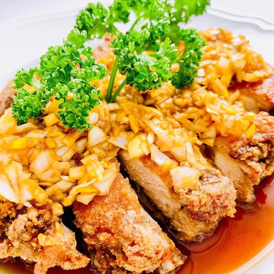 花椒油淋鶏/ホアジャオユーリンチー