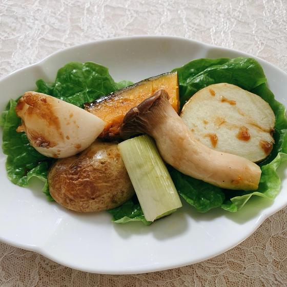 季節の野菜のバルサミコソース