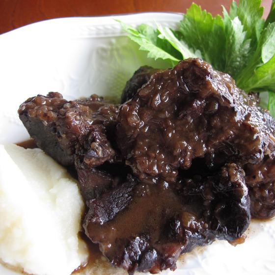 牛肉のバルサミコ煮込み