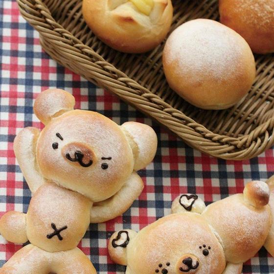 ごろばたみるくまパン