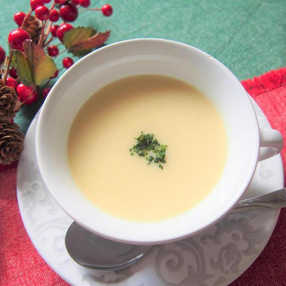 ロースティッドスイートポテトスープ
