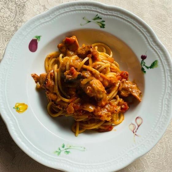 【イタリアのマンマ直伝パスタクラス】タコのラグー&サラダ