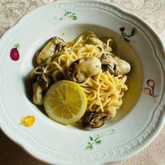 【イタリアのマンマ直伝パスタクラス】牡蠣のレモンバターパスタ