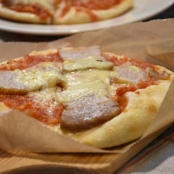 レーズン酵母で作るピザ生地