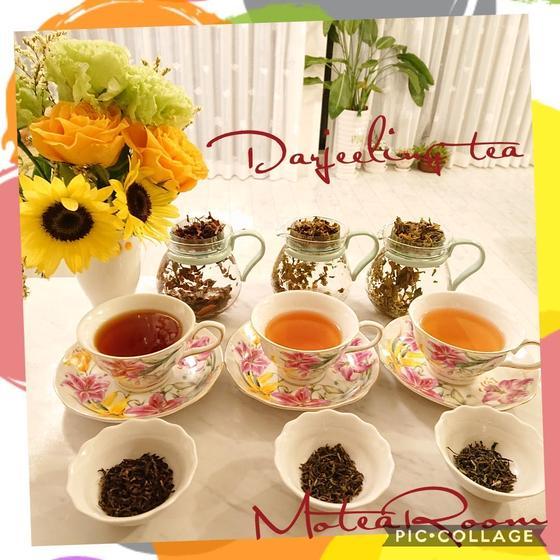 ダージリンの飲み比べ&フードペアリングで楽しむお茶会レッスン