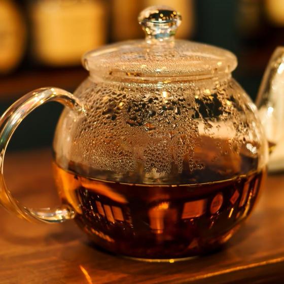 美味しい紅茶になりますように…。