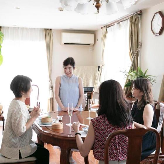 中国茶の魅力を楽しむサロン サロン ド シャンティ 香茶苑
