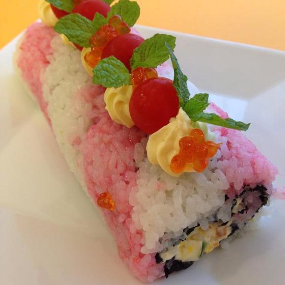 飾り巻き寿司を巻きましょう!飾り巻き寿司 ロール寿司 宝巻子