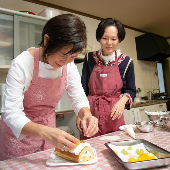 含蜜糖で作るシュクセお菓子教室