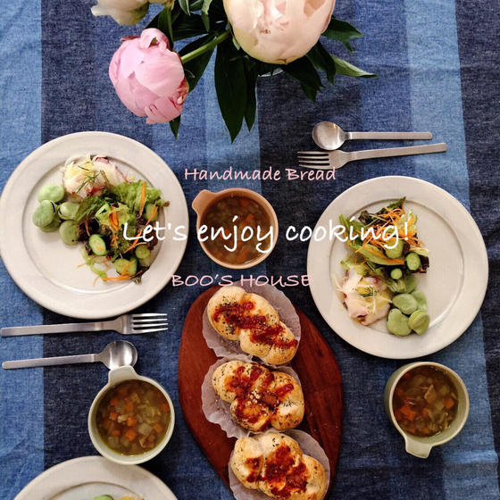BOO's  HOUSE季節野菜と暮らしを愉しむ教室