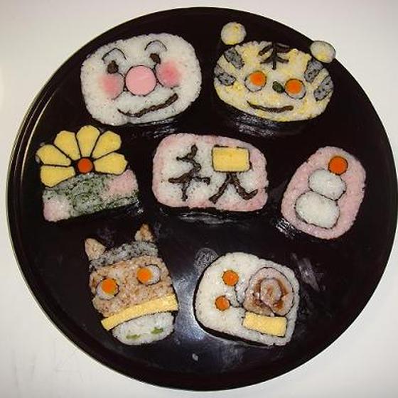 京都 ★飾り巻き寿司教室★ 彩花