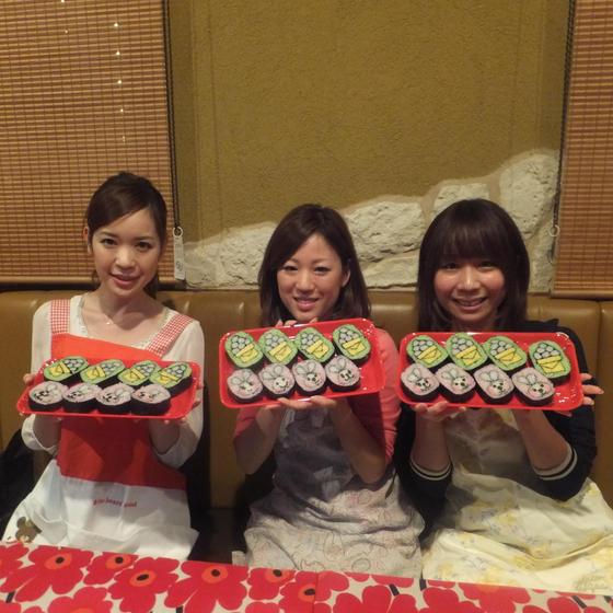 城殿ミキ飾り巻き寿司&アイシングクッキー教室