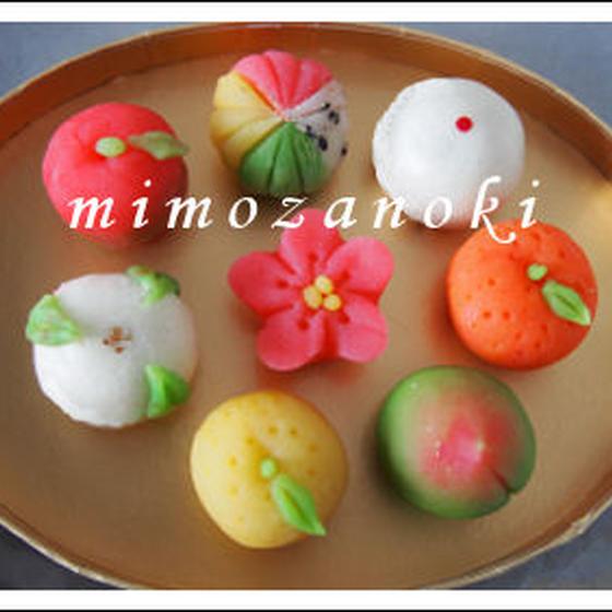 和菓子教室「ミモザの木」