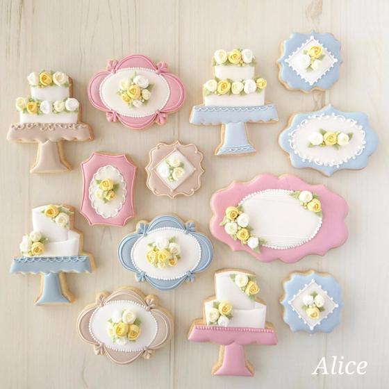 西宮 アイシングクッキー教室 Alice (アリーチェ)