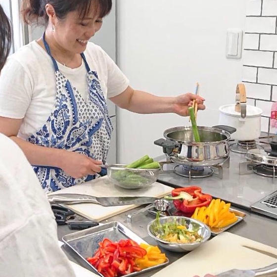 料理上手に見えるレシピ教室Keep Fit Kitchen