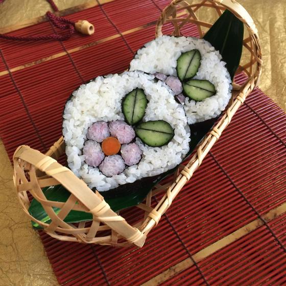 飾り巻き寿司とお菓子の教室merry rooms