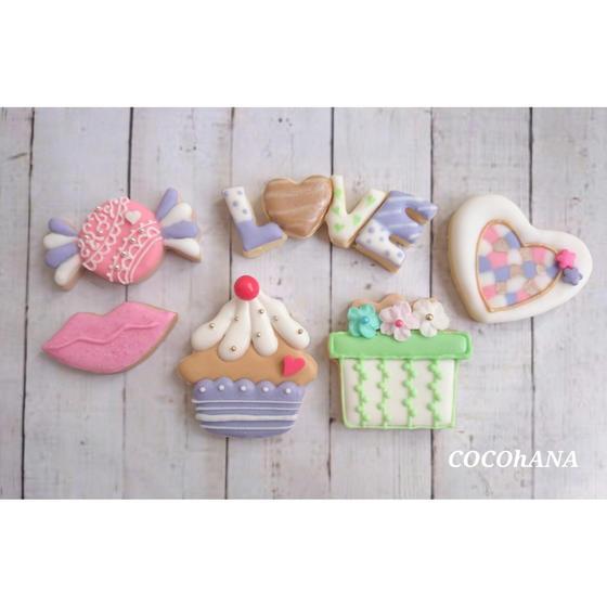 アイシングクッキー教室  COCOhANA
