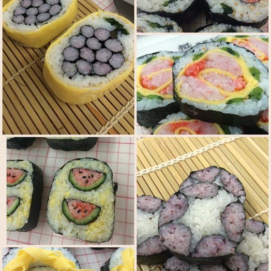 飾り巻き寿司教室 Gummi*