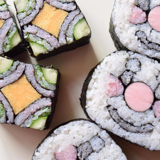 フラワーゼリー 飾り巻き寿司教室 tomo-roll