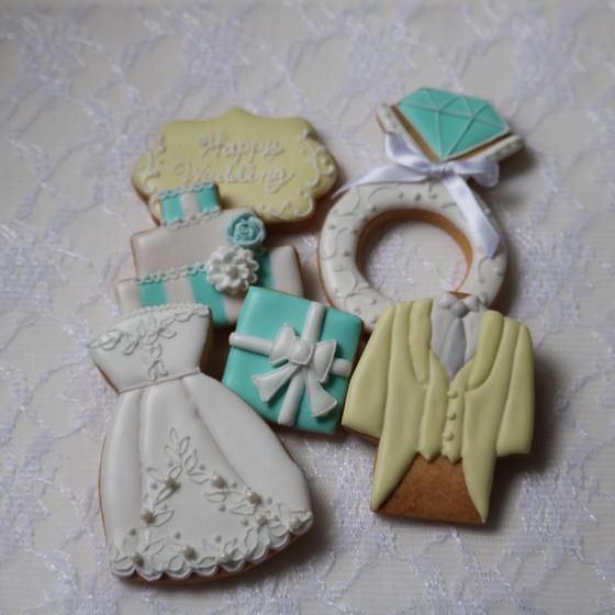 アイシングクッキー教室7colors