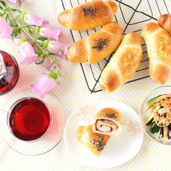 国産小麦&天然酵母のパンとハーブティーの教室  TOMPAN