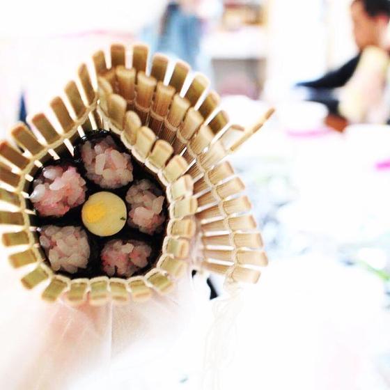 ハピマキ つくば飾り巻き寿司教室