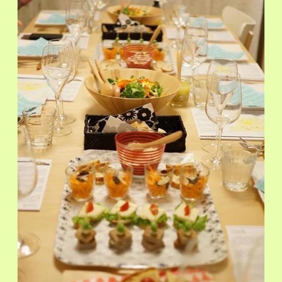 wine&cookingゆかこサロン(北九州教室)