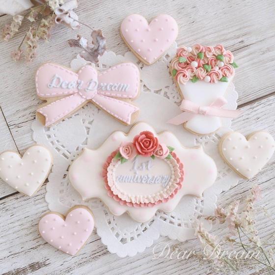 世田谷区駒沢♡アイシングクッキー教室♡Dear Dream