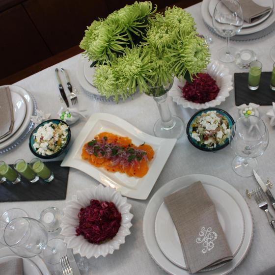 WISTERIA・ Healing Table