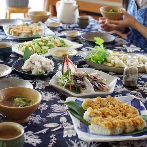 旬の魚菜を味わいつくす料理教室