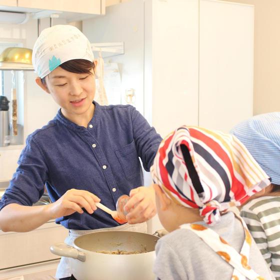子どもとママの食育料理教室  ふくふく