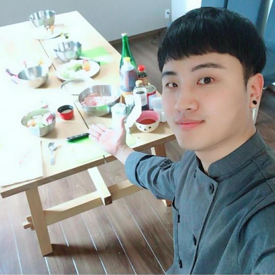 ジェホと一緒に韓国料理教室