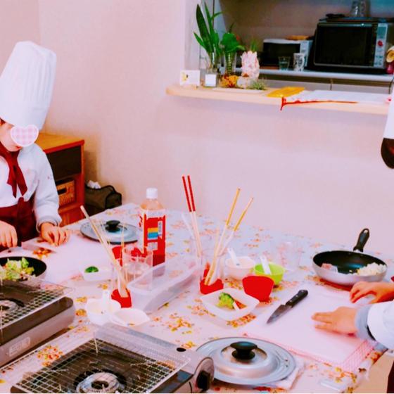 子供料理教室まじかるれっすん新井教室