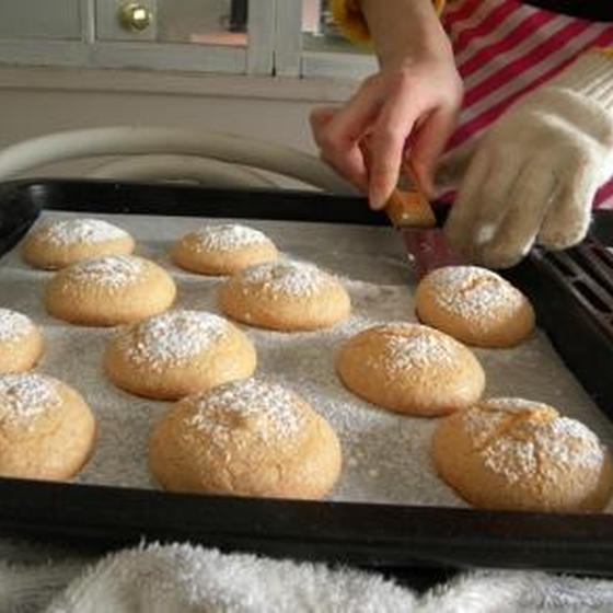 コットンチューリップお菓子とパンの教室