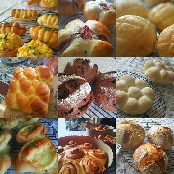 家族のための【おうちパン教室】 ハナリズム パンの会