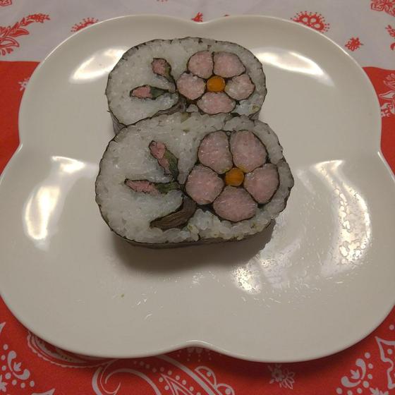 飾り巻き寿司教室  gufo