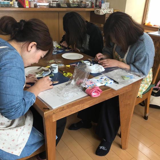 姫路☆可愛いアイシングクッキー教室 講師のKanae
