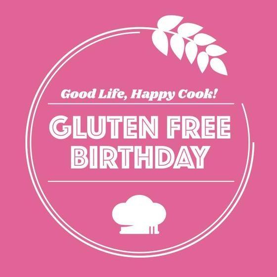 GLUTEN FREE BIRTHDAY