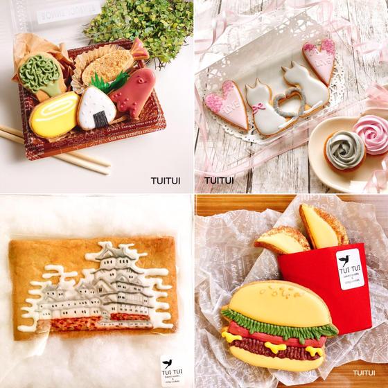 天然色素アイシングクッキー教室TUITUI