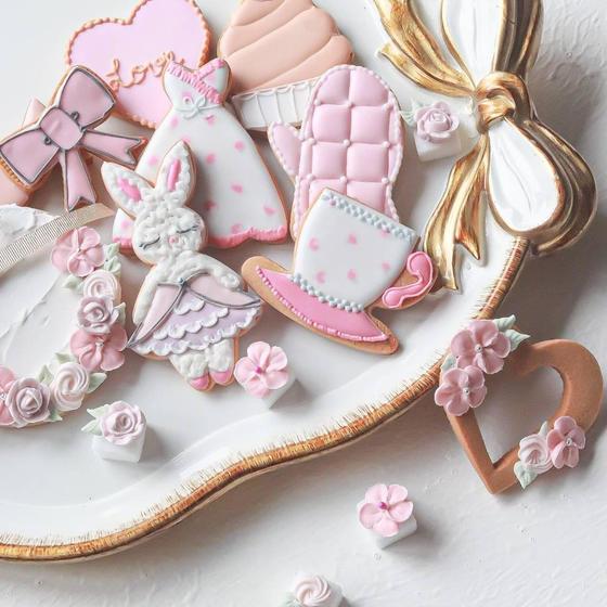 アイシングクッキー&フラワーケーキ教室しゅがーりぼん