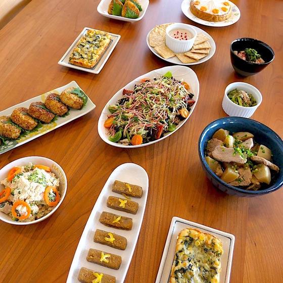 管理栄養士の料理教室なのはなキッチン