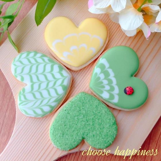 アイシングクッキー教室 choose happiness