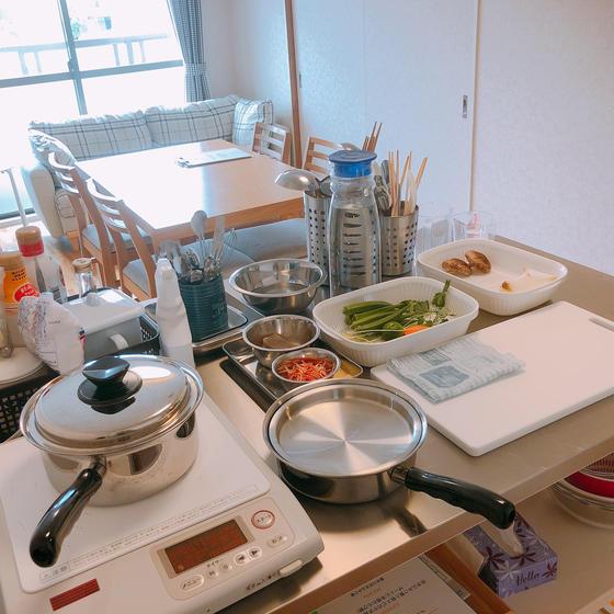 rie café cooking