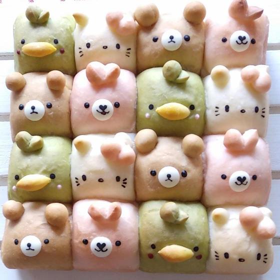 かわいい動物パンの教室 夢うさぎ